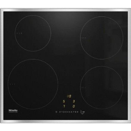 MIELE KM7201FR Induction hob with onset controls with 4 round cooking zones